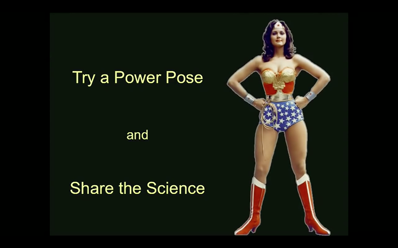 PowerPose Wonder Woman